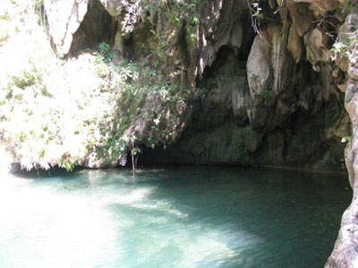 Parc naturel El Pilon Cuba piscine naturelle