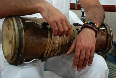 La Havane cours de percussion